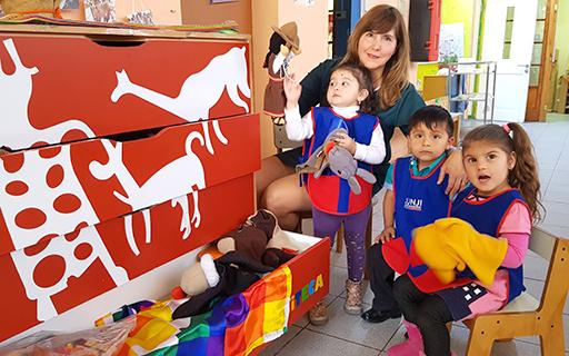 """Marcela Acosta Vallejos: """"La calidad educativa está presente también en los jardines rurales""""."""