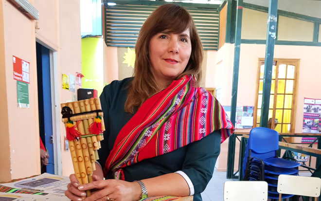 """Marcela Acosta Vallejos: """"La calidad educativa está presente también en los jardines rurales"""""""