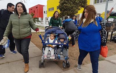 """En relación al desarrollo del ejercicio, la directora del Jardín Infantil """"Risitos de Oro"""" de La Serena, Norma Cortes, señaló que """"es necesario realizar este tipo de simulacros porque nos ayuda a probar si estamos en condiciones de poder proteger a las niñas y niños."""