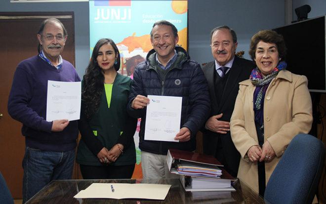 Este es el primer establecimiento Vía Transferencia de Fondos (VTF) en entregar carpeta para obtener esta certificación de calidad.