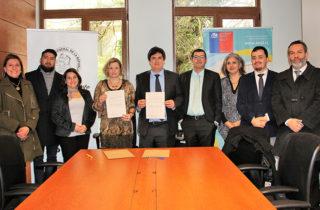 JUNJI y Contraloría de Los Ríos suscriben convenio de colaboración para fortalecer gestión pública