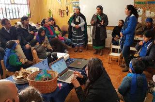 """Jardín Infantil Alternativo """"We Kimün"""" conmemora el Día de la Mujer Indígena"""