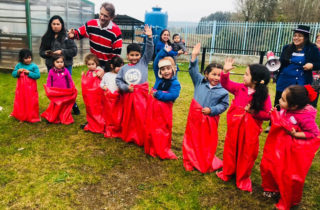 Jardín infantil de Folleco celebró Fiestas Patrias rescatando tradiciones