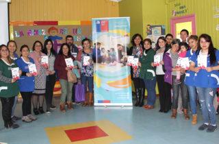 """Comunidad educativa del Jardín Infantil """"Campanita"""" conoce nuevo Sistema de Admisión Escolar"""