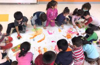 """Jardín infantil """"Pequeños Abracitos"""" se sumó a celebración del Mes de la Infancia"""