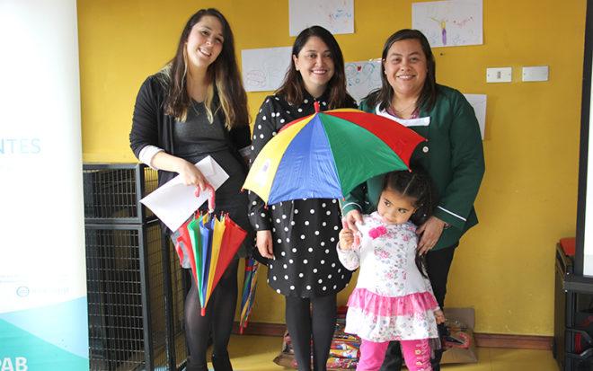 La institución lanzó un concurso de dibujo a nivel regional, en el que participaron más de 100 párvulos de los niveles medios de 6 jardines infantiles de la región.