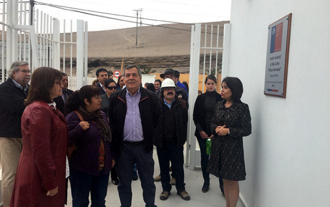 La inversión del nuevo establecimiento alcanzó los 1.900 millones de pesos, en él trabajarán 41 funcionarias entre educadoras, técnicos en atención de párvulos, auxiliares de servicio, administrativos y manipuladoras de alimentos.