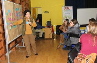 Alta asistencia y participación tuvo seminario organizado por la JUNJI en Punta Arenas