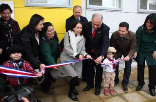 Vicepresidenta Ejecutiva inaugura hermoso jardín infantil en sector Escuela Agrícola