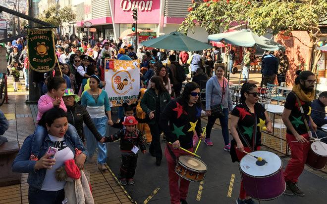17 unidades educativas de la ciudad de Antofagasta participaron de esta actividad, donde se realizó un llamado a respetar los derechos de niños y niñas.
