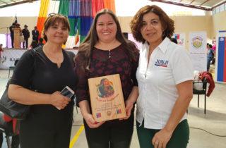Destacaron a funcionaria de la JUNJI Tarapacá en el marco de la conmemoración del Día de la Mujer Indígena
