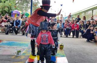 """Con masiva participación el Jardín """"Rayitos de Sol"""" realizó su V Desfile Ecológico"""
