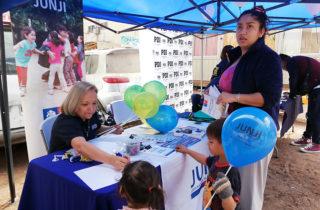 JUNJI Participa en Feria de Servicios Públicos en Iquique
