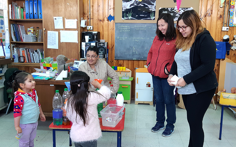 A nivel regional son casi un centenar las familias beneficiadas por este programa que busca un rol protagónico en el proceso educativo de sus hijos e hijas.