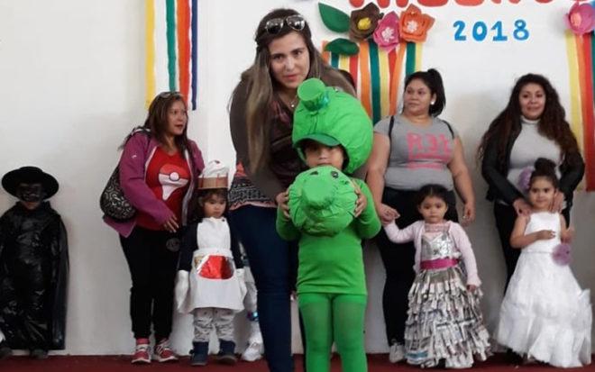"""Trajes ecológicos, musical inspirado en la película infantil """"Coco"""" y danzas folclóricas formaron parte de la nutrida propuesta artística de los niños y niñas que asisten a los Centros Educativos Culturales de Infancia, CECI, de Antofagasta."""