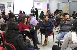 Centros de Padres de jardines de La Araucanía participan en dialogo ciudadano para elaborar Plan Operativo Institucional
