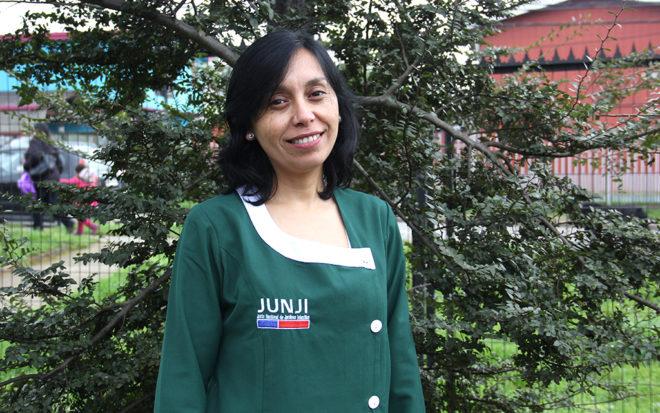 """Tirza González: """"Me gustan los desafíos que favorecen el protagonismo de los párvulos"""""""