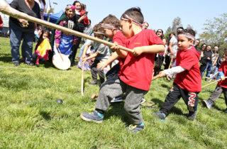 Encuentro intercultural reunió a más de 500 párvulos de la región Metropolitana