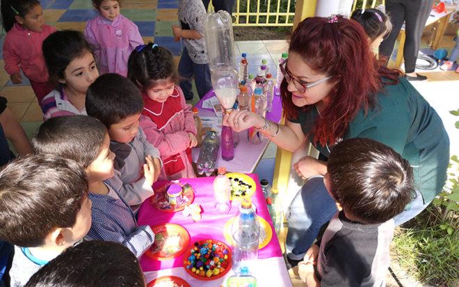 La muestra sirvió para dar cierre a nueve proyectos educativos que se desarrollaron durante el año con apoyo PAR Explora de Conicyt O'Higgins.
