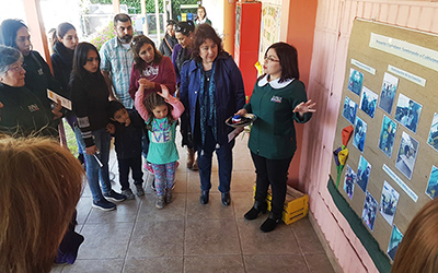 """""""Sembrando y Sembrando Vida Sustentable"""" es el nombre del proyecto que presentó la comunidad educativa, quienes se reunieron y detectaron las necesidades del establecimiento en relación a los intereses de los niños y niñas."""