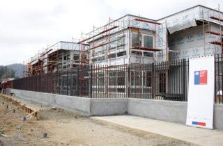Avanzan obras de nuevo jardín que se construye en la Universidad del Biobío