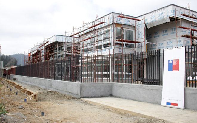 Un 67 % de avance presentan las obras de la nueva unidad educativa. La edificación de dos pisos que se proyecta terminada para febrero de 2019, tendrá una capacidad de atención para 192 niños y niñas