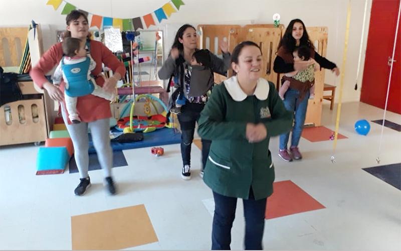 """Los jardines infantiles """"Abejita"""" de Villa Alemana y """"El Trencito"""" de Llay LLay expusieron sus prácticas pedagógicas en el marco de las celebraciones de la semana de la educación parvularia impulsada por la institución gubernamental."""