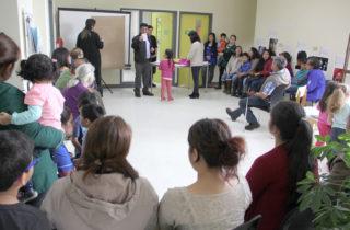 """Familias de Folleco bautizaron como """"Semillas del Canelo"""" a nuevo jardín infantil"""