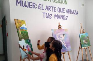 """El arte de la Pintura llega al Jardín """"Campo de Colores"""""""
