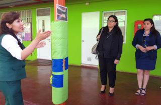 """Familias crearon pilares interactivos en Jardín Infantil """"Caracolito"""""""