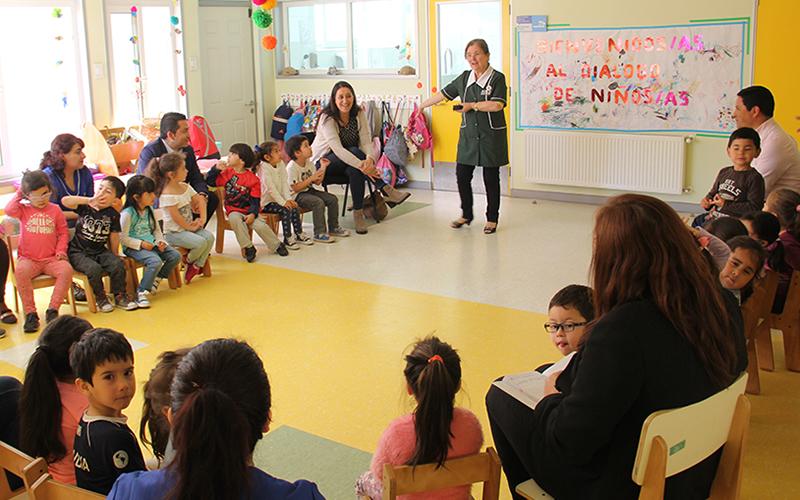La Junji Biobío inicia campaña de inscripción de párvulos en semana de la Educación Parvularia