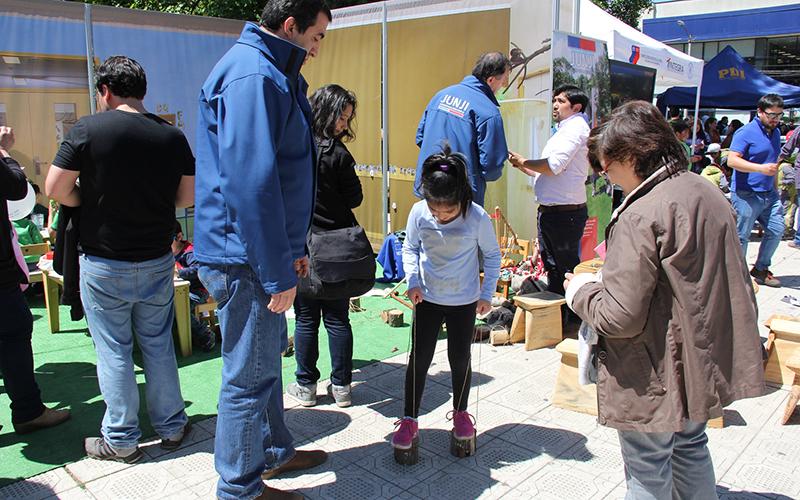 Párvulos de las dos unidades educativas compartieron una entretenida jornada en torno a diversas tradiciones mapuches.