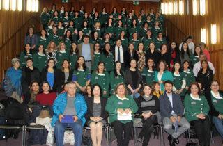 Reconocen labor de educadoras de párvulos en jornada de reflexión pedagógica