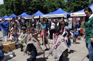 Jardines participan en Muestra Intercultural de Educación Parvularia
