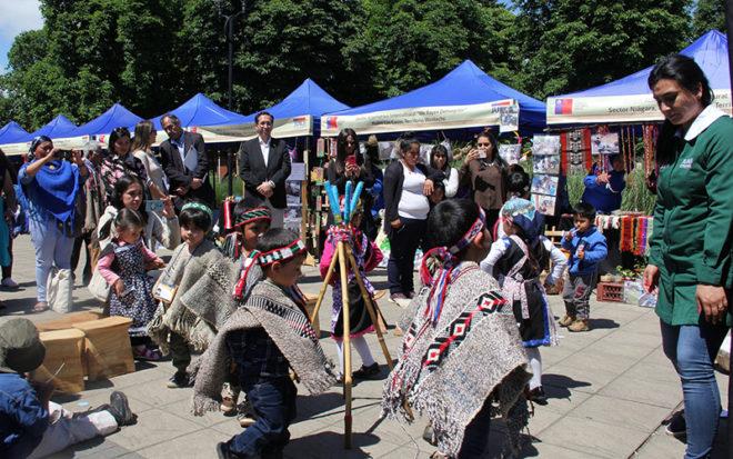 La exposición reunió lo mejor de las prácticas pedagógicas interculturales, como una forma de complementar el mapuche kimün -conocimiento ancestral- con la educación parvularia, y donde tuvieron una importante participación, las Educadores de Lengua y Cultura Indígena, ELCI.