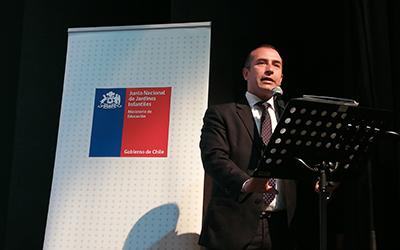 Para el seremi de Educación, Natan Olivos, la educación parvularia es uno de los ejes de la Política Pública del Gobierno del Presidente Sebastián Piñera.