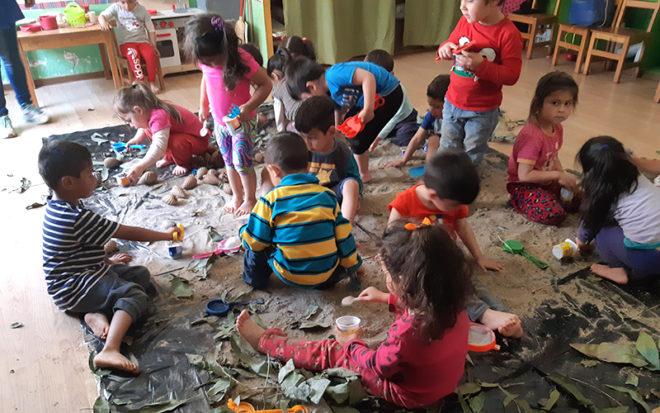 La iniciativa, que surgió de los propios niños y niñas, busca que los párvulos redoblen su compromiso con el cuidado del medio ambiente.