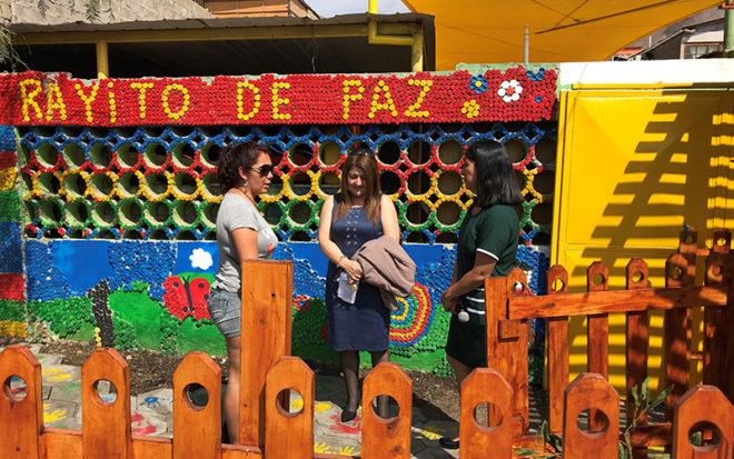 La ejecución del mismo demandó un gasto de 1 millón de pesos y consideró realizar diversos trabajos de mejoramiento en la entrada y el antejardín.