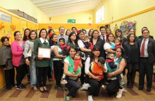 Celebran convenio que fortalece la educación inclusiva en jardines infantiles