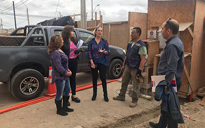 La gobernadora de Elqui, Daniela Norambuena dijo que los niños están primero y también la seguridad de los vecinos.