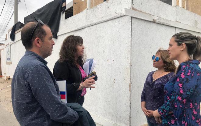 La gobernadora del Elquí, Daniela Norambuena y la directora regional(s) de la Junji, Rosa Godoy, se comprometieron a realizar gestiones para una pronta solución a este problema.