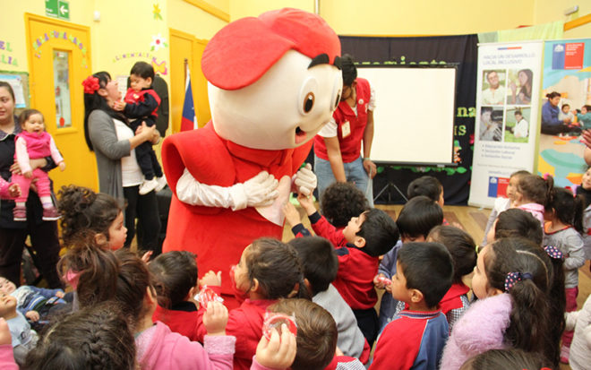Este 2018, la gran cruzada solidaria por los niños y niñas, cumple 40 años de vida y para aportar mucho más que el 2017, se realizó el lanzamiento regional de la campaña en jardines infantiles de la Junji.