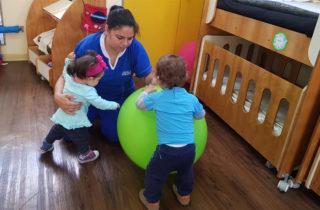 """En Sala Cuna """"Pan de Azúcar"""" desarrollan entretenidas actividades para potenciar aprendizajes de los párvulos"""