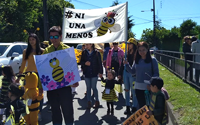 La encargada de la unidad educativa de Santa Bárbara, Mónica Flores, sostuvo que en cada momento, que realizaron el proyecto, pensaron siempre en los niños y niñas.