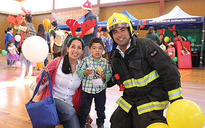 También participó en la actividad, el gobernador de Concepción, Robert Contreras, quien felicitó a la Junji por promover el cuidado de nuestros niños y niñas.