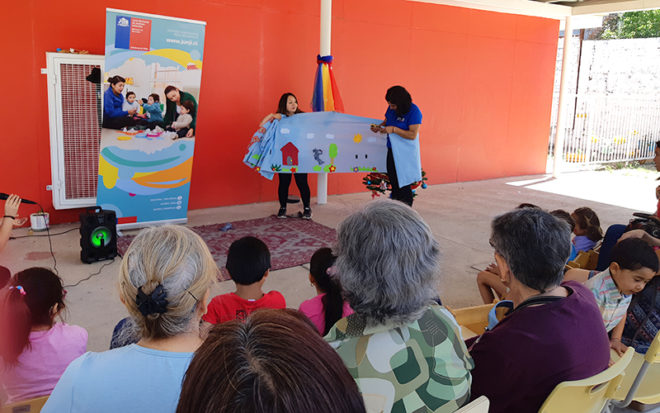 """El Jardín Infantil """"El Bosque Educativo"""" ubicado en el sector de Artificio que abrió sus puertas a la comunidad en el mes de octubre, realizó actividad de puertas abiertas para dar a conocer sus prácticas pedagógicas."""