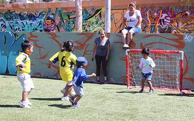 todos los jardines participantes se llevaron el reconocimiento por la participación y quedaron invitados para el próximo año, para formar parte de esta entretenida y deportiva actividad.