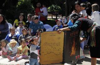 "Presentan ""Epew: Relatos Mapuche para Educación Parvularia"" en Angol"