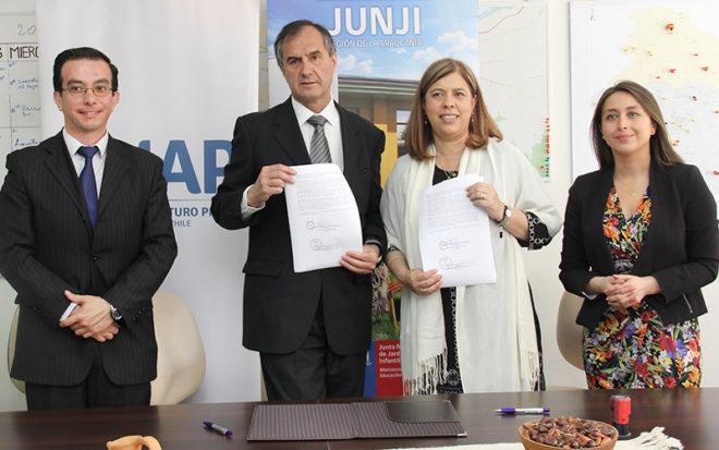 El acuerdo irá en directo beneficio de las carreras de Técnico de Nivel Superior en Asistente en Educación de Párvulos y Kinesiología.