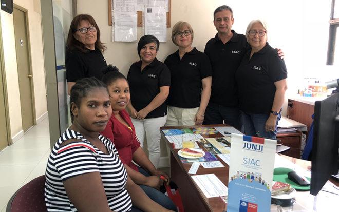 La Dirección Regional Metropolitana inició un proyecto piloto para atender a personas con discapacidad auditiva o que no hablen español, con la finalidad de entregar un mejor servicio al público.